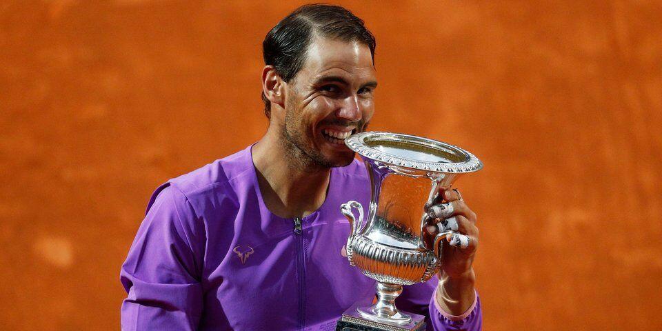 Nadal beats Djokovic to win Italian Open