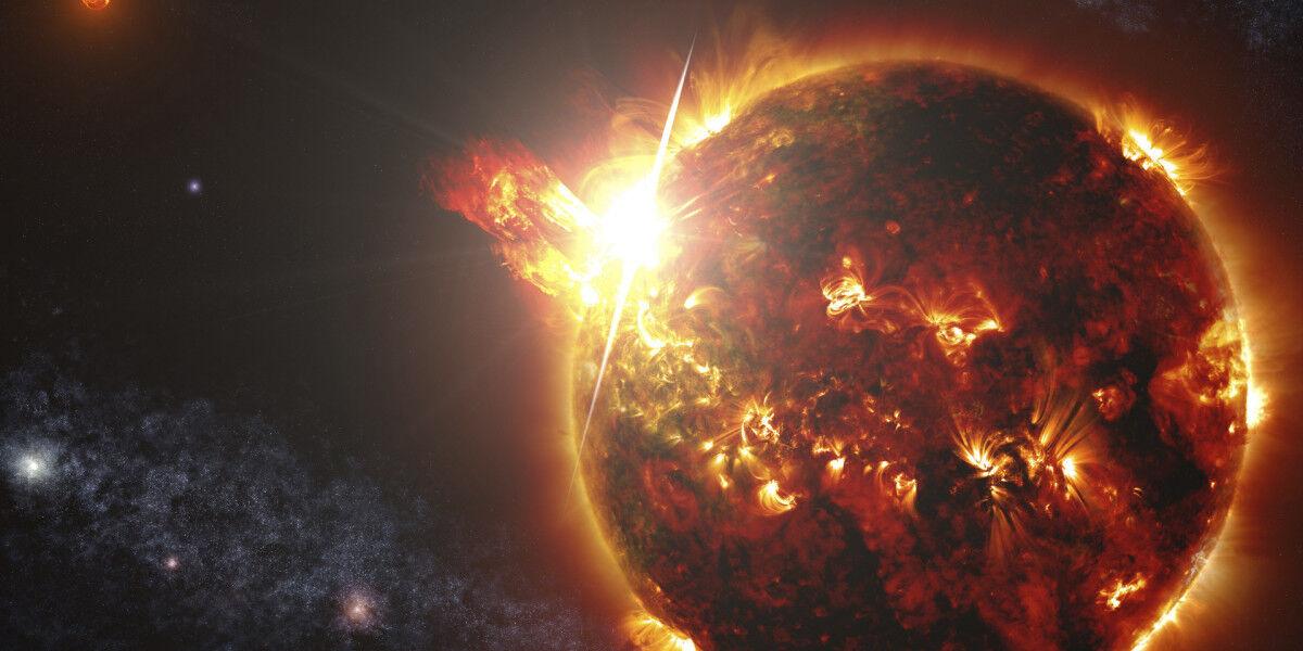 Огненная планета картинки